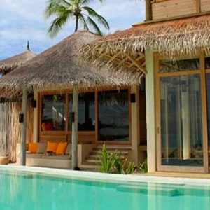 Maldives Honeymoon Packages Six Senses Laamu Two Bedroom Lagoon Beach Villa With Pool