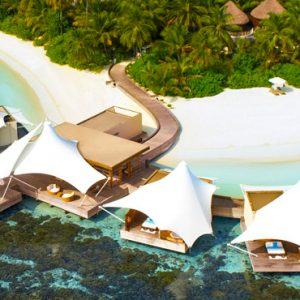 Maldives Honeymoon Packages W Retreat & Spa Maldives Aerial View 2