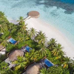 Maldives Honeymoon Packages W Retreat & Spa Maldives Aerial View
