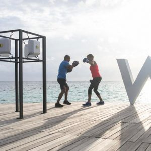 Maldives Honeymoon Packages W Retreat & Spa Maldives Boxing Trainning