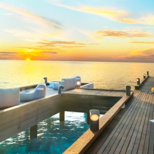 Maldives Honeymoon Packages W Retreat & Spa Maldives Dining View