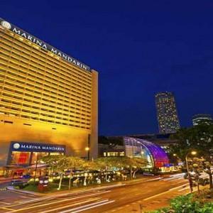 Marina Mandarin - Luxury Singapore Honeymoon Packages - Hotel exterior1