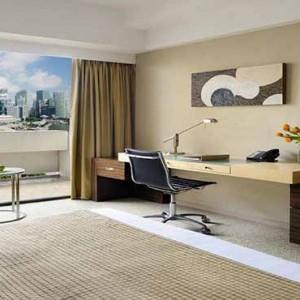 Marina Mandarin - Luxury Singapore Honeymoon Packages - Marina Bay Suite1