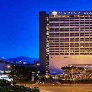 Marina Mandarin - Luxury Singapore Honeymoon Packages - hotel exterior