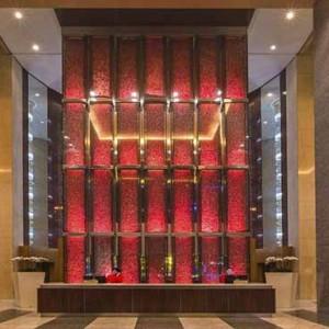 Marina Mandarin - Luxury Singapore Honeymoon Packages - lobby reception