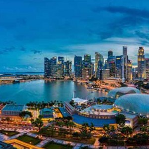 Marina Mandarin - Luxury Singapore Honeymoon Packages - location