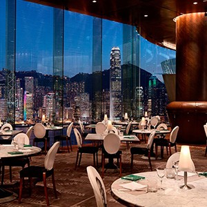Peninsula Hong Kong Honeymoon - Dining