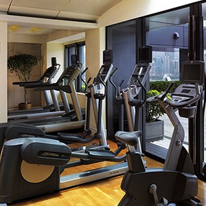 Peninsula Hong Kong Honeymoon - gym