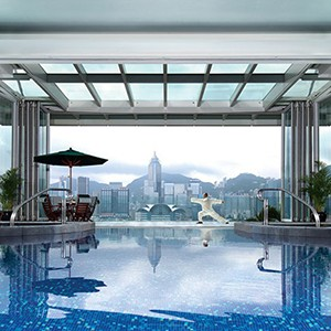 Peninsula Hong Kong Honeymoon - pool