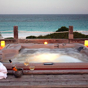 Pink Sands - Bahamas Honeymoon Packages - Jacuzzi