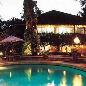 Sandpiper - Barbados Honeymoon Packages - pool night