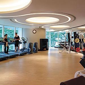 Shangri-La Island Hong Kong - Honeymoon - fitness
