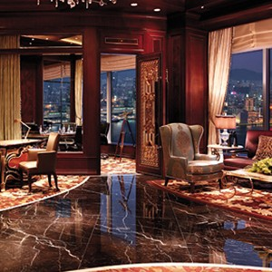 Shangri-La Island Hong Kong - Honeymoon - lounge