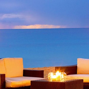 The House - Barbados Honeymoon Packages - beach dining