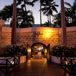 Restaurant At Night The House Barbados By Elegant Hotels Barbados Honeymoons