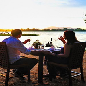 Cinnamon Lodge Habarana - Luxury Sri Lanka Honeymoon Package - Candle lit dining