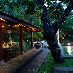 Cinnamon Lodge Habarana - Luxury Sri Lanka Honeymoon Package - The lotus restaurant