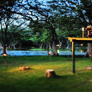 Cinnamon Lodge Habarana - Luxury Sri Lanka Honeymoon Package - Treehouse dining