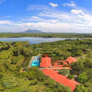 Sri Lanka Honeymoon Package - Cinnamon Lodge Habarana - aerial view