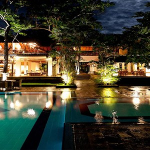 Cinnamon Lodge Habarana - Luxury Sri Lanka Honeymoon Package - exterior at night