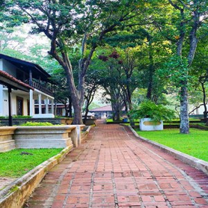 Cinnamon Lodge Habarana - Luxury Sri Lanka Honeymoon Package - garden area