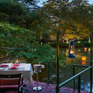 Cinnamon Lodge Habarana - Luxury Sri Lanka Honeymoon Package - private dining