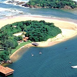 Club Bentota - Sri Lanka Honeymoon Packages - aerial