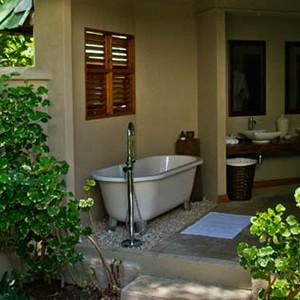 Denis Private Island - Seychelles Honeymoon Packages - outdoor bathroom