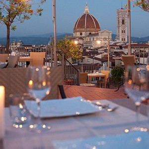 Grand Hotel Baglioni Florence - Italy Honeymoon Packages - dining