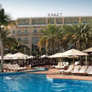 Grand Hyatt Musact - Oman Honeymoon Packages - Pool