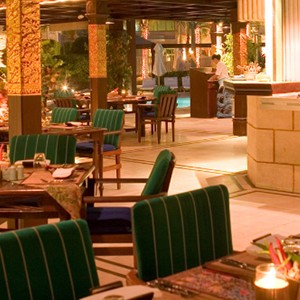Grand Hyatt Musact - Oman Honeymoon Packages - dining