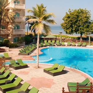 Grand Hyatt Musact - Oman Honeymoon Packages - swimming pool