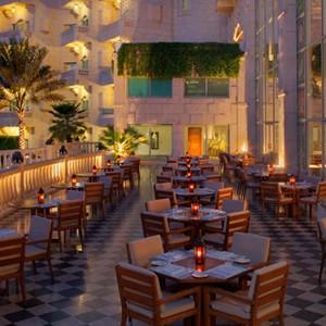 Grand Hyatt Musact - Oman Honeymoon Packages - terrace