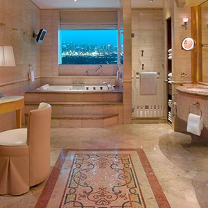 Grand hyat dubai - Dubai Honeymoon Packages - bathroom
