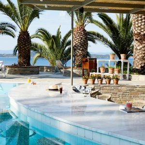 Greece Honeymoon Packages Eagles Palace Armyra Pool Bar