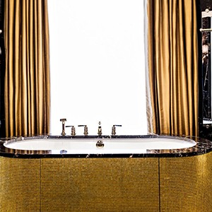 Hotel Prince De Galles, Paris - Paris City Breaks - bathroom