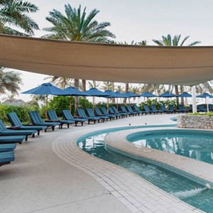 Jebel Ali - Dubai Honeymoon Packages - pool area
