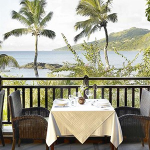 Le Meridien Fisherman's Cove - Seychelles Honeymoon Packages - restaurant