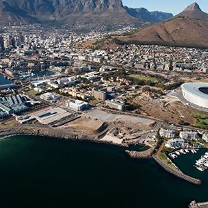 One&Only Cape Town - South Africa Honeymoon - aerial