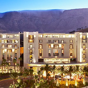 One&Only Cape Town - South Africa Honeymoon - table exterior