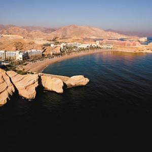 Shangri-La Barr Al Jissah - aerial