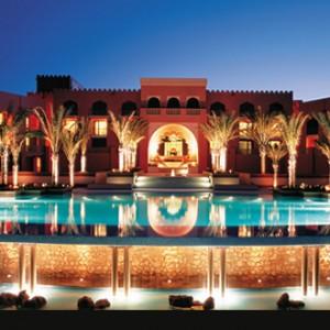 Shangri-La Barr Al Jissah - infinity pool