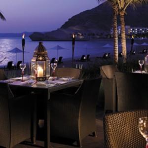 Shangri-La Barr Al Jissah - night dining