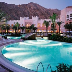 Shangri-La Barr Al Jissah - pool