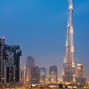 The Oberoi, Dubai - Dubai Honeymoon Packages - skyline