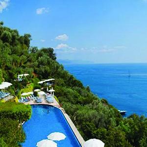 Hotel Splendido Portofino - Italy Honeymoon Packages - pool