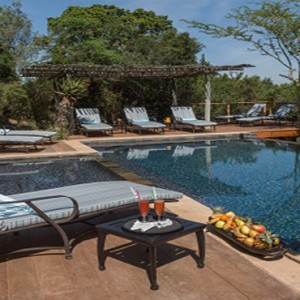 Kariega Game Reserve - Luxury South Africa Honeymoon Packages - Main lodge pool1