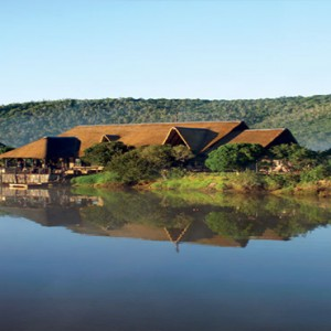 Kariega Game Reserve - Luxury South Africa Honeymoon Packages - River lodge overview