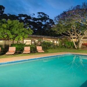 Kariega Game Reserve - Luxury South Africa Honeymoon Packages - The Homestead pool