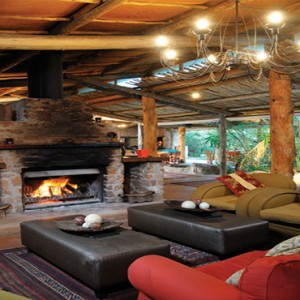 Kariega Game Reserve - Luxury South Africa Honeymoon Packages - Uzokhi Lodge living area